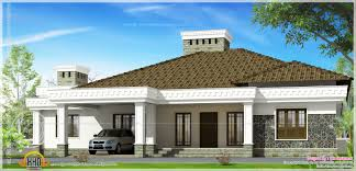 south indian single floor house plans