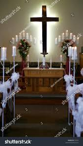 church cross decorations wedding stock photo 31010 shutterstock