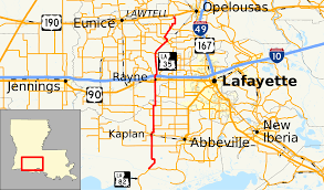Iberia Route Map by Louisiana Highway 35 Wikipedia