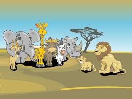 safari cartoon african animals cartoons