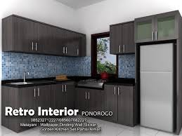 Kitchen Set Minimalis Putih Toko Wallpaper Dinding Madiun 085232712227 085607682227