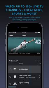 directv now on the app store