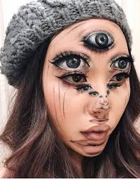 makeup artist trippy transformations makeup artist creates 3d illusions
