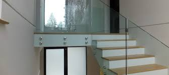 Glass Stair Handrail Glass Stair Railing Ideas Elegant And Safety Glass Stair Railing