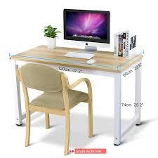 Computer Im Schreibtisch Tribesigns Computertisch Schreibtisch 25mm Dicke Moderner