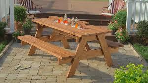 backyard picnic table ideas backyard picnic table with benches