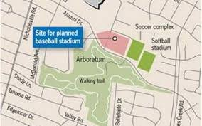 Uky Map Trustees Approve Money For Designs Of New Uk Baseball Stadium