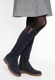 zalando womens boots sale navy boots buy zalando co uk