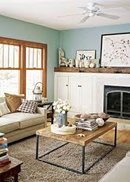 Beautiful Mobile Home Interiors by Love The Built In Around The Fire Place The Wood Ledge On Top And