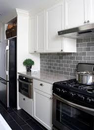 Gray Glass Subway Tile Backsplash - best 25 grey backsplash ideas on pinterest gray subway tile