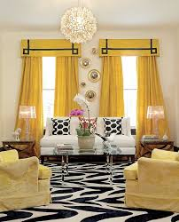 interior design ideas yellow living room gopelling net curtains black and white yellow gopelling net