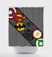 superhero home decor superhero shower curtain super hero shower curtain shower