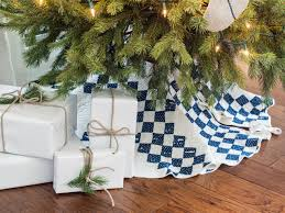 country style christmas tree skirts home decorating interior