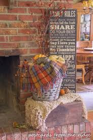 Fall Decorating Ideas by Best 25 Vintage Fall Decor Ideas On Pinterest Fall Fireplace