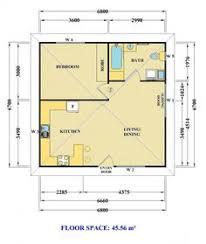 Granny Flat Floor Plans 1 Bedroom 1 Bedroom Floor Plan Granny Flat Design Ideas 2017 2018