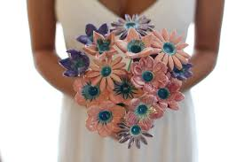 Shabby Chic Wedding Bouquets by White Bridal Bouquet Wedding Bouquet Shabby Chic Wedding Wedding