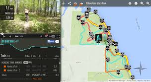 Door County Wisconsin Map by Trail Genius Insider