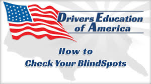 Driving Blind Spot Check How To Check For Blind Spots Texas Online Drivers