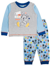 baby boys pyjamas toddlers disney mickey mouse pjs clubhouse