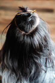 glam seamless hair extensions braided bun hawk using glam seamless extensions confessions of a