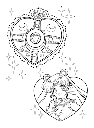sailormoon coloring pages