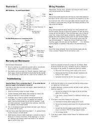 fantech dryer booster fan troubleshooting wiring procedure illustration 5 warranty and maintenance fantech