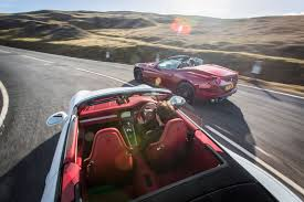 porsche turbo convertible porsche 911 turbo s cabrio vs ferrari california t twin test
