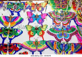 kite butterfly design weifang shandong stock photos kite