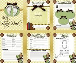 best baby book digital scrapbooking made easy free baby book insert