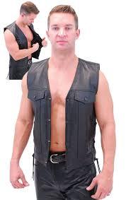 leather vest leather vest w ccw pocket holster vm825l