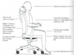 position assise bureau siège ergonomique b b design