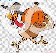 pilgrims thanksgiving feast cartoon of a thanksgiving pilgrim turkey running with a pumpkin