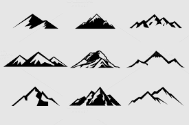 check out mountain shapes for logos vol 1 by lovepower on creative