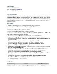 Manual Testing Fresher Resume Samples Manual Testing Resume Format Software Qa Engineer Resume Samples