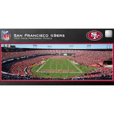 master pieces san francisco 49ers panoramic stadium puzzle 1 000