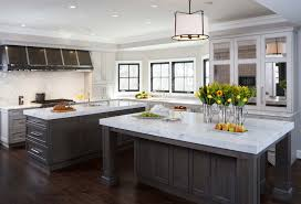 Double Island Kitchen by Kitchens Kristin Peake Interiors Llc