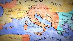 Roman Map 476 A D From The Beginning Of The Movie Roman Map Changes