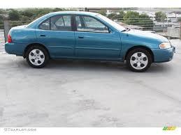 nissan sentra blue vibrant blue 2004 nissan sentra 1 8 s exterior photo 69666987