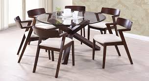 round dining room tables for 6 spacious chair round glass dining table and 6 chairs ciov for