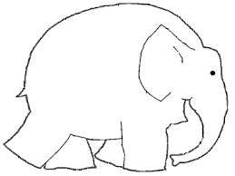 elmer elephant coloring page read and make pinterest