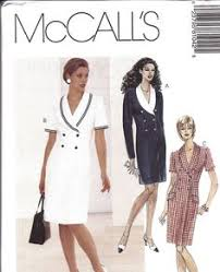 1940s stunning coat dress pattern mccall 7078 asymmetrical front
