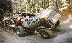 jeep rubicon trail history of the rubicon trail georgetown lake tahoe offroad