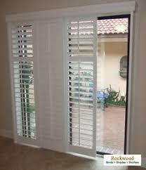 Diy Patio Doors Opt For Shutters For Sliding Doors Sliding Glass Door Glass