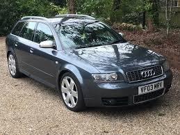 2003 audi a4 s4 4 2 v8 quattro b6 estate grey recaro heated