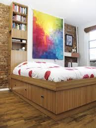 custom beds nyc bedroom furniture brooklyn made urban homecraft bamboo bed with storage column