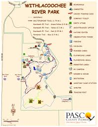 Mn State Parks Map Pasco County Fl Official Website Withlacoochee River Park
