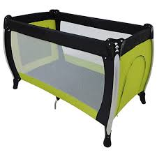 basson baby travel cot black green babyshop com