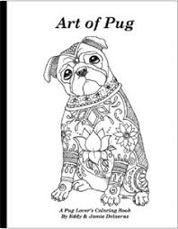 pug coloring free download