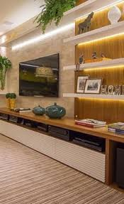 Interior Design Ideas For Tv Wall by 18 Chic And Modern Tv Wall Mount Ideas For Living Room Modern Tv