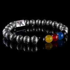 sterling silver black onyx bracelet images Erasmo sterling silver with black onyx yellow agate red and jpg